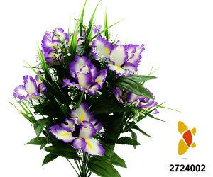 Artificial/Plastic/Silk Flower Iris Bush (2724002) pictures & photos