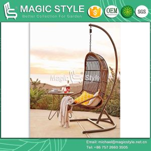High Quality Swing Rattan Wicker Swing Balcony Patio Hammock (Magic Style) pictures & photos