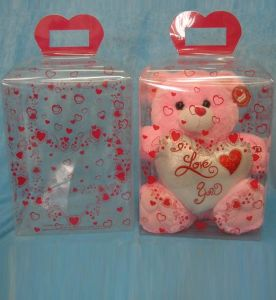 Sweet candy birthday gift PET packaging with printing (gift box) pictures & photos