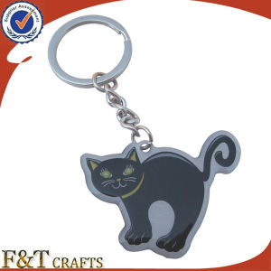 Cheap Animal Shaped Advertising Digital Photo Metal Keychains (FTKC1842A) pictures & photos