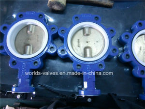 Double Dual Shaft Undercut Disc Butterfly Control Valve with CE Approved (D7A1X-10/16) pictures & photos