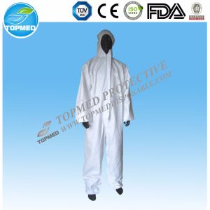 Wholesale Disposable SBPP Coveralls for Industry Workwear pictures & photos