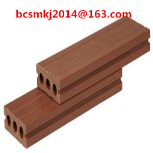 Engineering WPC Convenient Installation Outdoor Decking for Outdoor Decoration (80*30mm) pictures & photos