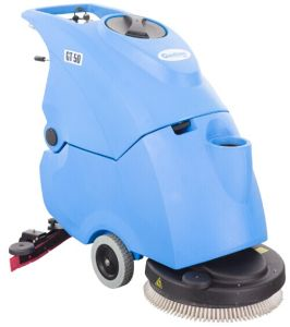 Commercial and Industrial Automatic Walk Behind Scrubber Dryer with Cable pictures & photos