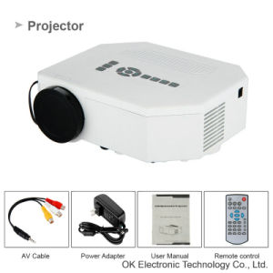 New 3D Hot Mini Projector UC30 Outdoor Video Projector pictures & photos