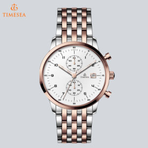 Chronograph Luxury Steel Man Wrist Watch Fashion Crystal Sport Watch72810 pictures & photos
