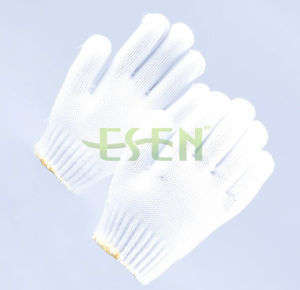 10 Gauge Polyester Knit Gloves/ Polyester Knitted Glove/Safety Glove pictures & photos