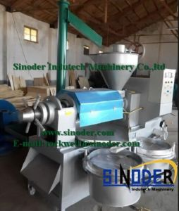 Vegetable Seed/Soy/Sesame/ Peanut Automatic Screw Oil Press pictures & photos