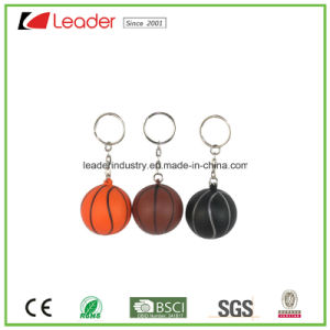 New Rubber Basketball Key Chains Hanging Ornament pictures & photos