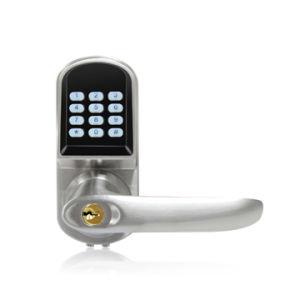 Zinc Alloy Access Control Bluetooth Password Smart Door Lock pictures & photos