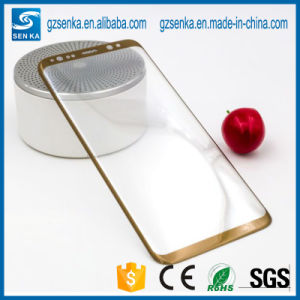 Wholesale Silk Print Glass Screen Protector for Samsung S8 pictures & photos