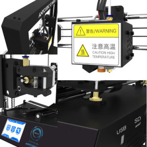 Upgraded 3.5 LCD Screen High Accuracy Desktop 3D Printer I3 Metal Frame DIY Kit Self-Assembly with 8GB SD Card pictures & photos