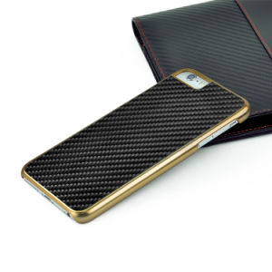 Hot Mobile Phone Cases for iPhone 6s Plus Carbon Fiber Electroplate Covers pictures & photos