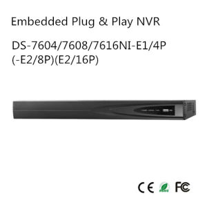 Embedded Plug & Play NVR (DS-7604/7608/7616NI-E1/4P(-E2/8P) (E2/16P) pictures & photos