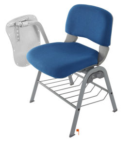 Hot Sale School Writing Chair with Fabric pictures & photos