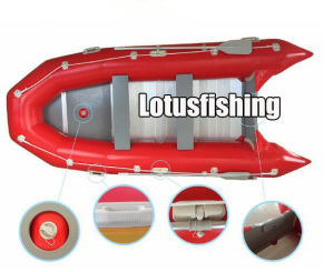 Inflatable Fishing Boat with Trolling Motor, Cheap Inflatable Boat pictures & photos