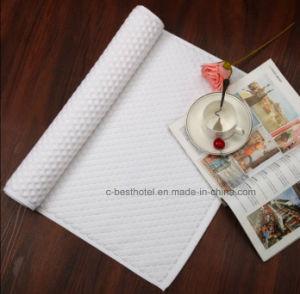 100% Cotton Non-Slip Bath Mat Jacquard Floor Towel pictures & photos