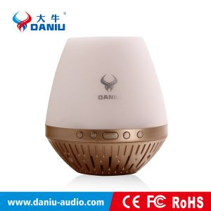 Daniu Hot Selling Pure Sound Portable Wireless Bluetooth Speaker with Package with LED Light (DS-7601)