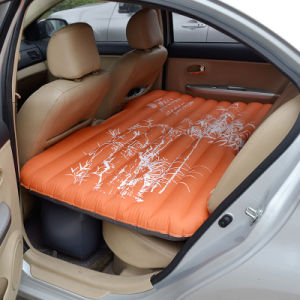 Camping Orange Inflatable Car Airbed Mattress pictures & photos