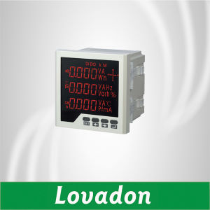 Lh-3D2 Three Phase Digital Multimeter Ce, ISO Certified Multifunction Digital Panel Meter pictures & photos