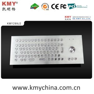 """U"" Shape Keys Waterproof Kiosk Metal Keyboard (KMY299J-2) pictures & photos"