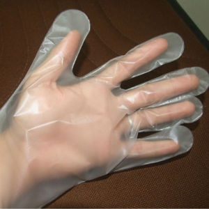 CPE Glove Cast Polyethylene Glove pictures & photos