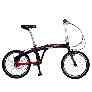 Aluminum Alloy Folding Bicycle 16 Inch Bike Folded pictures & photos