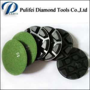 Abrasive Concrete Floor Polishing Grinding Pad Backer Buff Pad