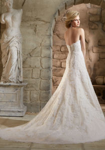 2016 Lace Beaded Mermaid Bridal Wedding Gowns 2779 pictures & photos