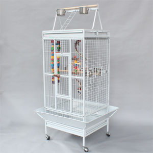 Heavy Duty Metal Large Bird Parrot Cage pictures & photos