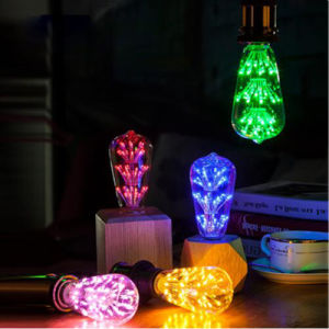 Popular in Korea E26 E27 110V 220V Colorful LED Lighting pictures & photos