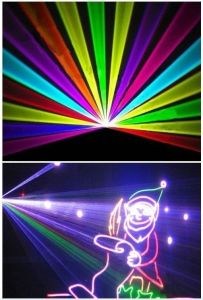 Full Color 8W/10W RGB Animation Laser Light with SD Card pictures & photos