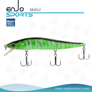 Plastic Stick Bait Fishing Gear Fishing Tackle Lure with Vmc Treble Hooks pictures & photos