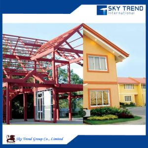 Beautiful Prefabricated Small Garden Low Price Sandwich Panel Ready Made House Holiday Villa pictures & photos