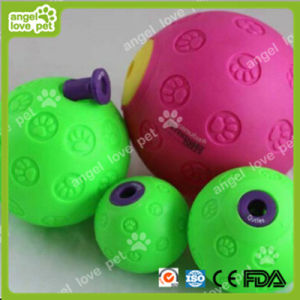 Food Leakage Balls Vinyl Pet Toy pictures & photos