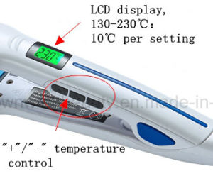 China Factory High Quality Fast Hair Straightener with Mch Heater pictures & photos