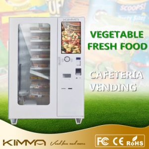 Yogurt Vending Machine Deliver by Conveyor with Touch Screen pictures & photos