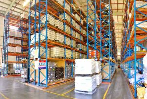 Heavy Duty Very Narrow Aisle Racking for Warehouse Storage pictures & photos