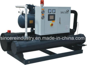 Water Cooled Screw Chiller with Plastic Industrial pictures & photos