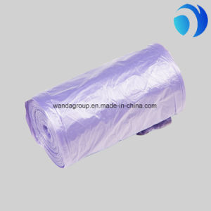 Colored Household Plastic Garbage Bag Trash Can Liner on Roll pictures & photos