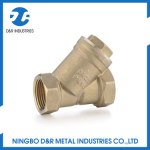 Brass Y Type Strainer Good Quality pictures & photos