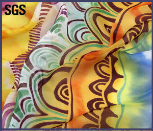 Digital Printing Silk Custom Printed Chiffon Fabric