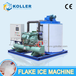 Koller Price 10 Ton Stainless Steel SUS304 Flake Ice Machine for Meat Processing Vegetavle pictures & photos