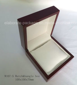 Luxury Rosewood Glossy Packaging Wooden Jewelry Gift Box pictures & photos