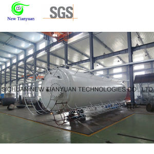 0.8MPa Working Pressure Lar/Ln2/Lo2 Cryogenic Liquid Storage Tank pictures & photos