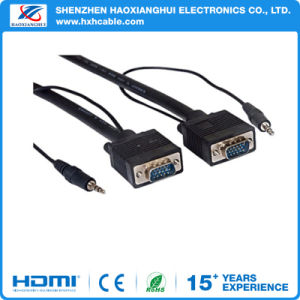 High Quality HD 1080P VGA Cable with DC3.5 for TV pictures & photos
