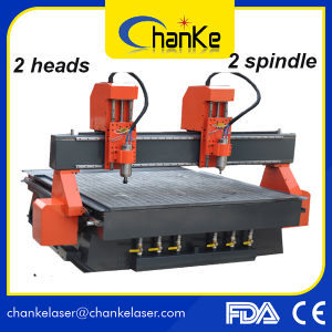 Ck1325 5.5kw CNC Wood Engraving Carving Machine for 3D Working pictures & photos