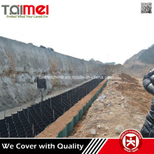 HDPE Flat Surface Geocell Cellular Confinement System pictures & photos