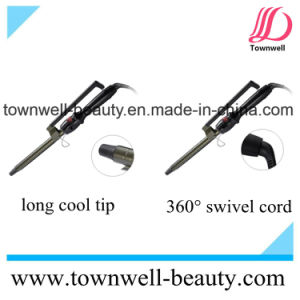Titanium LCD Digital Hair Curling Iron with Different Barrel Sizes pictures & photos