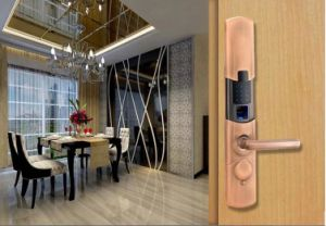 High Security Passcode Intelligent Fingerprint Door Lock pictures & photos